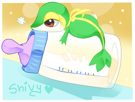 Baby snivy by JohanAnderssonGX