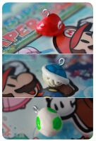Mario Charms by angelkittin