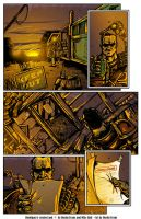 Hooligan issue 1 page 6 colors by DustinEvans