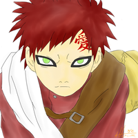 Gaara of the sand by Kurosakilchigo