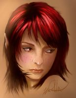 Red Fairy by gerky-art