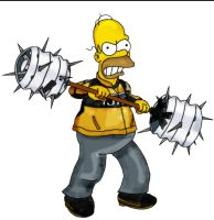Homer DEADRISING 2 by AwesomeCAS