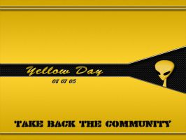 Yellow Day by fission1