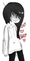 Jeff The Killer Pixel by mara-chama