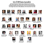 Game Journalists: List of Known Hypocrites by HoneyBadgerRadio