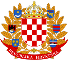 Croatia greater coat of arms proposal by Samogost