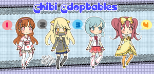 Chibi Adoptables: CLOSED by YuikoHeartless