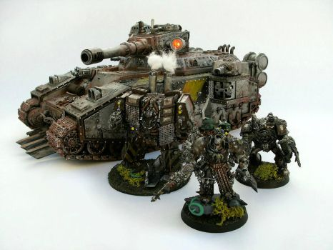 Iron Warriors by Nergling