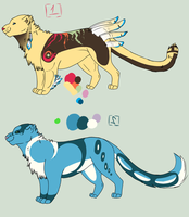 .:Elementals: by LuLu-Adopts