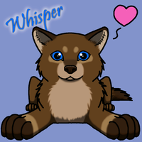 Whisper icon BIG by Jenny2-point-0