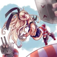 Shimakaze chan by Fury-artworks
