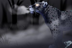 Blue Leopard Speed Paint by DJ88