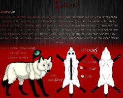 Evilyn's reference by Metalwolf13