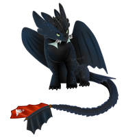 Toothless by CrystalCircle