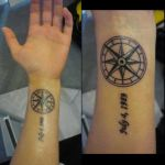 Compass Tattoo by specialneeds0468
