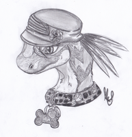 kilat the utahraptor by lugiamaria