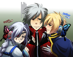 Blazblue - Magnet x3 by R-ninja
