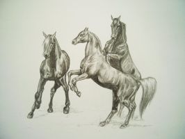 The Three Arabians by August-ana