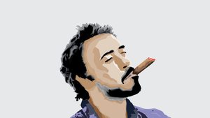 Robert Downey Jr. (Polygons) by SomeElixer