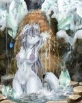 Isen Waterfall- Swimsuit Ed. by whodagoose