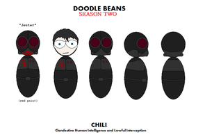 Doodle Beans CHILI by T1p2