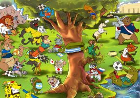 world cup 2010 by jorcerca