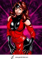 Scarlet Witch 3 by G Blair by Mythical-Mommy