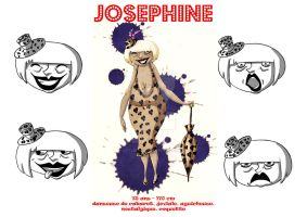 Josephine character sheet 1 by LittleRedMinet