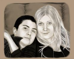 Mother and Son by zomberflie