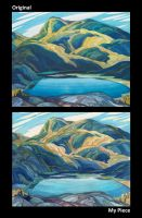 Mimic the Masters - Franklin Carmichael by Noidatron