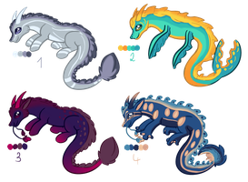Eastern Dragon Adoptables - 150 Points - OPEN by thesellers