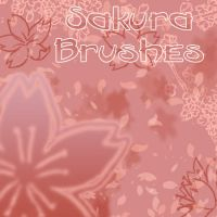 Sakura Brushes by Erulisse2