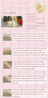 Sweet lace nails :TUTORIAL: by Rurichuu