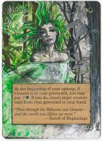 Magic Card Alteration: Genesis by Ondal-the-Fool