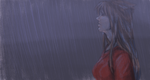 Konokou in The Rain by Konokou