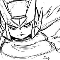 Zero cloak Lineart by supereva01