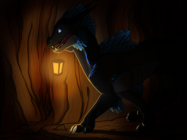Cave exploration by DarkMasterOfDragons