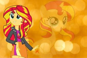 Sunset Shimmer by raredash