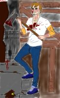 Psycho!Aaron by Birth-of-an-assassin