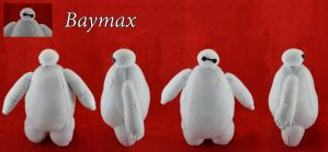 Baymax Plushie by CleverCrafts