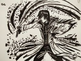 aoshi ink drawing by eve1789