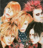 It's Only Love 3: Dir en grey by mona-chan
