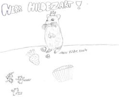 Herr Hildezart :uncolored: by Carlythefox