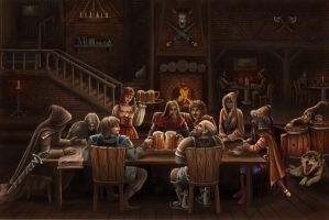 The tavern by Araniart