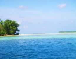 I love the blue of Indonesia by maniez106