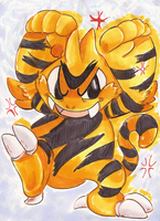 Electabuzz by CritterKat