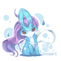 suicune. by Effier-sxy