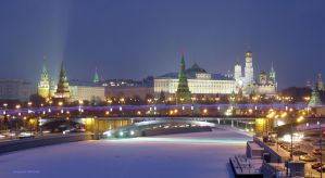 Moscow Kremlin by powervectors