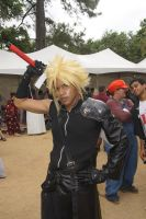 Cloud Strife cosplay by Dinnerfortwo