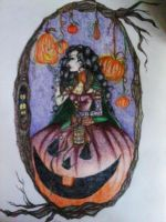 Contest Entry: Pumpkin Queen by xitsveronikiox